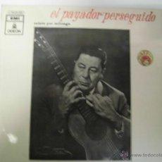 Discos de vinilo: EL PAYARDOR PERSEGUIDO RELATO POR MILONGA DE ATAHUALPA YUPANQUI LP SELLO EMI AÑO 1970. Lote 151531389