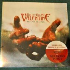 Discos de vinilo: BULLET FOR MY VALENTINE - TEMPER TEMPER (NUEVO! PRECINTADO). Lote 39858836