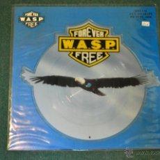 Discos de vinilo: W.A.S.P. - FOREVER FREE (PICTURE DISC). Lote 39858875