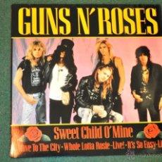 Discos de vinilo: GUNS N' ROSES -SWEET CHILD O' MINE (45 RPM). Lote 39859086