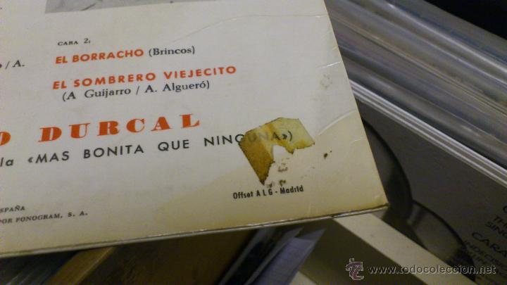 Discos de vinilo: Rocio durcal canta temas del film Mas bonita que ninguna Ep Disco de vinilo 7 pulgadas - Foto 4 - 39859762