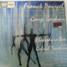 Discos de vinilo: FRANCH POURCEL LP SELLO EMI LA VOZ DE SU AMO AÑO 1966. Lote 39860597