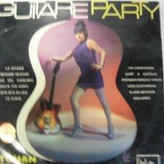 Discos de vinilo: GUITAREPARTY LP SELLO MARFER AÑO 1967. Lote 39860897