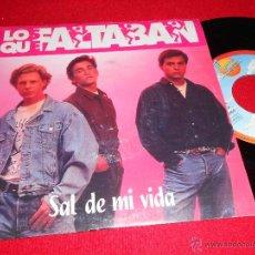 Discos de vinilo: LOS QUE FALTABAN SAL DE MI VIDA/ ERES UNA CHICA 7 SINGLE 1991 SANNI PROMO. Lote 39867082