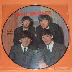 Discos de vinilo: BEATLES WITH THE BEATLES PICTURE DISC. Lote 39867958