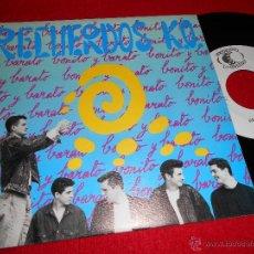 Discos de vinilo: RECUERDOS K.O. YURI / MARGARITA QUERIDA 7 SINGLE 1991 LA ESTACION RECORDS EXCELENTE ESTADO. Lote 39873673