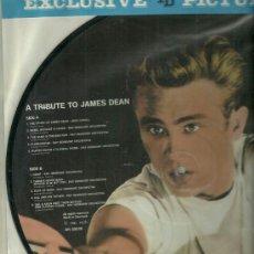 Discos de vinilo: JAMES DEAN PICTURE DISC EDITADO EN DINAMARCA. Lote 39871622