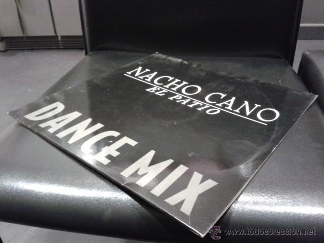Discos de vinilo: Nacho Cano - El Patio Dance Mix 1994 MAXI VIRGIN Mecano Muy Raro - Foto 3 - 39873094