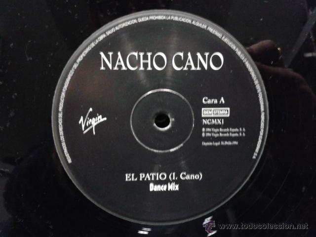 Discos de vinilo: Nacho Cano - El Patio Dance Mix 1994 MAXI VIRGIN Mecano Muy Raro - Foto 6 - 39873094