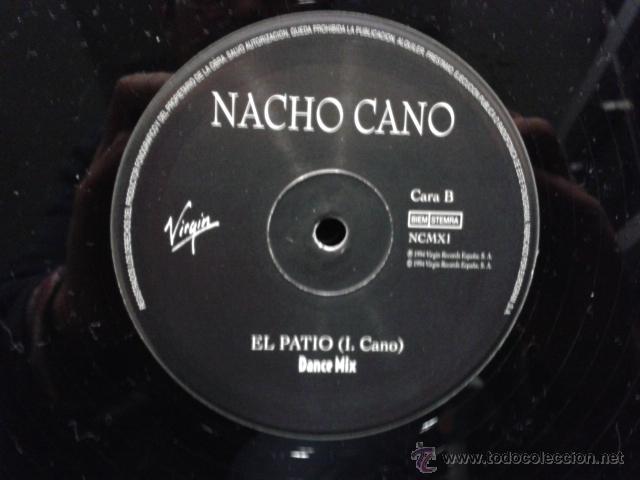 Discos de vinilo: Nacho Cano - El Patio Dance Mix 1994 MAXI VIRGIN Mecano Muy Raro - Foto 7 - 39873094