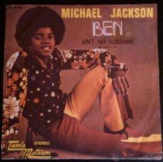 Discos de vinilo: MICHAEL JACKSON, BEN - SINGLE ORIGINAL ESPAÑOL. Lote 39878768