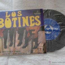 Discos de vinilo: LOS BOTINES 7´EP CHICO YE-YE + 3 TEMAS (1965) COMO NUEVO -INCLUYE TRIANGULO. Lote 39881413