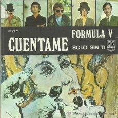 Discos de vinilo: FORMULA V SINGLE SELLO PHILIPIS AÑO 1969. Lote 39886738