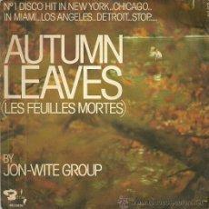 Discos de vinilo: JON.WITE-GROUP SINGLE SELLO BARCLAY AÑO 1975. Lote 39886840