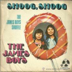 Discos de vinilo: THE JAMES BOYS SINGLE SELLO PENNY FARTHING AÑO 1973. Lote 39886882