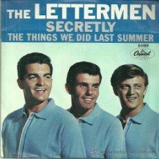 Discos de vinilo: THE LETTEMEN SINGLE SELLO CAPITOL EDITADO EN USA.. Lote 39886926