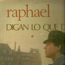 Discos de vinilo: RAPHAEL LP SELLO CAPITOL EDITADO EN MEXICO. Lote 39887170