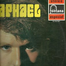Discos de vinilo: RAPHAEL LP SELLO FONTANA AÑO 1969. Lote 39887240