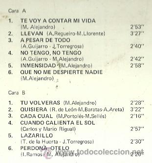 Discos de vinilo: RAPHAEL LP SELLO FONTANA AÑO 1969 - Foto 2 - 39887240
