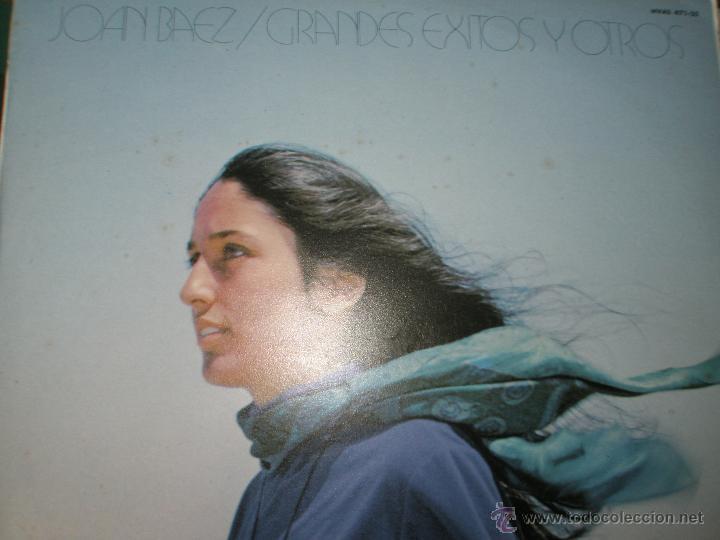 LP-VINILO-JOAN BAEZ-GRANDES EXITOS Y OTROS-1974-11 TEMAS-HISPAVOX-. (Música - Discos - LP Vinilo - Cantautores Internacionales)