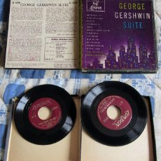 Discos de vinilo: GEORGE GERSHWIN SUITE (LOUIS LEVY AND HIS CONCERT ORCHESTRA) 2 EP 1949. Lote 40045980