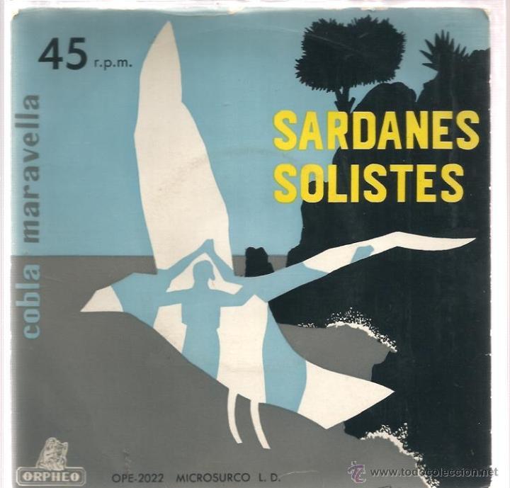 EP COBLA MARAVELLA : SARDANES SOLISTES ( ADEU GENIS + 3) (Música - Discos de Vinilo - EPs - Étnicas y Músicas del Mundo)