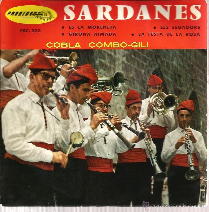 EP COBLA COMBO-GILI SARDANES : ES LA MORENETA + 3 (Música - Discos de Vinilo - EPs - Étnicas y Músicas del Mundo)