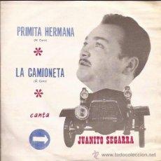 Discos de vinilo: SINGLE LA CAMIONETA JUANITO SEGARRA-SANDIEGO 139-1972-PROMO-. Lote 39899961