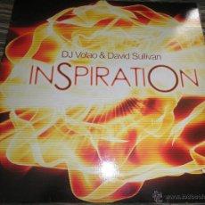Discos de vinilo: DJ VOLAO & DAVID SULLIVAN - INSPIRATION - MAXI 45 R.P.M. - 12 PULGADAS -. Lote 39916366