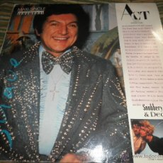 Discos de vinilo: ACT - SNOBBERY & DECAY MAXI 45 R.P.M. - 12 PULGADAS - ISLAND RECORDS 1987. Lote 39916977