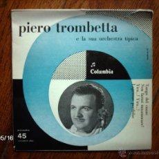 Discos de vinilo: PIERO TROMBETTA - TANGO DEL CUORE + 3. Lote 39930736
