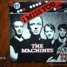 Discos de vinilo: THE MACHINES - I MISS YOU + NIGHT GAMES . Lote 39934914