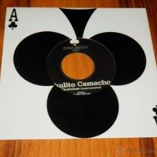 Discos de vinilo: CHULITO CAMACHO CICATRICES SINGLE VINILO NUEVO ZONA BRUTA HIP HOP ESPAÑOL DANCEHALL ZB. Lote 142976182
