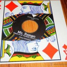 Discos de vinilo: MR. MR RANGO DIME SI ES VERDAD SINGLE VINILO NUEVO ZONA BRUTA HIP HOP ESPAÑOL CPV JOTAMAYUSCULA ZB. Lote 146595277