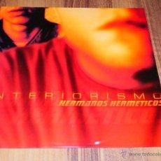 Discos de vinilo: HERMANOS HERMETICOS INTERIORISMO MAXI SINGLE VINILO NUEVO ZONA BRUTA HIP HOP ESPAÑOL ZB. Lote 57953444