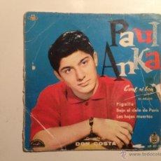 Discos de vinilo: EP PAUL ANKA -- EDICION ESPAÑOLA 1960. Lote 39926164