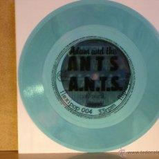 Discos de vinilo: ADAM AND THE ANTS - A.N.T.S. - FLEXIPOP 004 - FLEXIDISC AZUL TRANSPARENTE - EDICION UK. Lote 39926929
