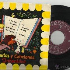 Discos de vinilo: ORQUESTA CALESITA EP CUENTOS Y CANCIONES INFANTILES ESPAÑA . Lote 39928543