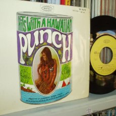 Discos de vinilo: HITS WITH A HAWAIIAN PUNCH THE CORAL REEF EP EPIC SPAIN. Lote 39934620