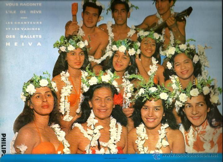 Discos de vinilo: LP MADELEINE MOUA Y LOS BALLETS HEIVA : A VOUS TAHITI - Foto 2 - 39936315