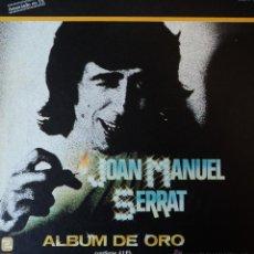 Discos de vinilo: JOAN MANUEL SERRAT - ALBUM DE ORO - EDICIÓN DE 1981 DE ESPAÑA - CAJA CON 4 LP'S + 1 EP.. Lote 39972611