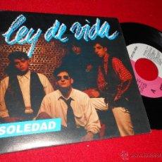 Discos de vinilo: LEY DE VIDA SOLEDAD 7 SINGLE 1993 OKAY PROMO UNA CARA. Lote 39959044