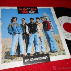 Discos de vinilo: LA LLAMADA HAS JUGADO CONMIGO 7 SINGLE 1992 SALAMANDRA PROMO UNA CARA. Lote 39959457