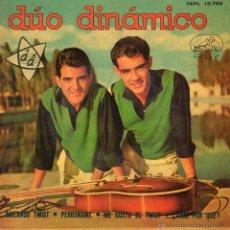 Discos de vinilo: DUO DINAMICO, EP, BAILANDO TWIST + 3, AÑO 1962. Lote 39958677