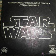 Discos de vinilo: STAR WARS B.S.O (TEMA CENTRAL) ORIGINAL ESPAÑOL - 20TH CENTURY RECORDS 1977 - SINGLE MUY NUEVO (5). Lote 95037603