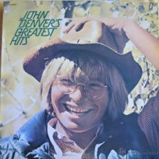 Disques de vinyle: LP - JOHN DENVER - GREATEST HITS (SPAIN, RCA RECORDS 1974). Lote 39973292