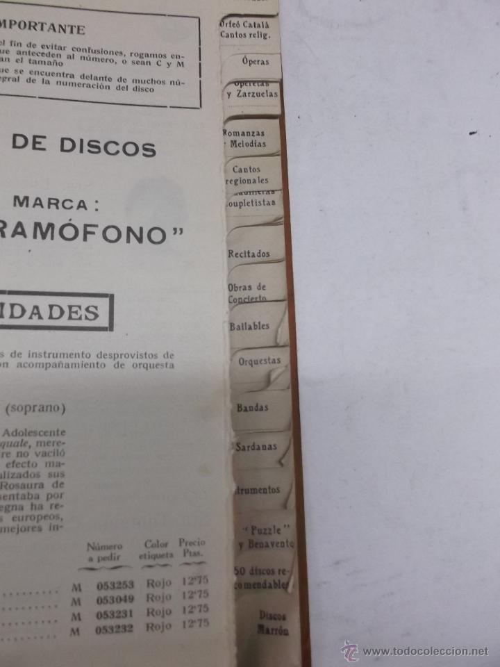 Discos de vinilo: CATALOGO DE DISCOS MARCA GRAMOFONO JUNIO 1918 - Foto 3 - 39974504