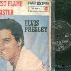 Discos de vinilo: ELVIS PRESLEY HIS LATEST FLAME 33 RPM (EDICIÓN ESPAÑOLA). Lote 39977631