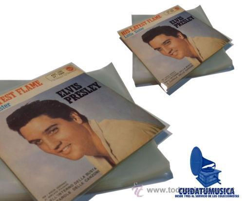 100 FUNDAS EXTERIORES GALGA 400 PARA DISCO VINILO SINGLE 7 -LOS DISCOS PEQUEÑOS- (Música - Discos - Singles Vinilo - Otros estilos)