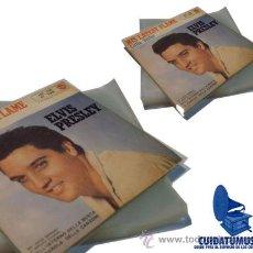 Discos de vinilo: 100 FUNDAS EXTERIORES GALGA 400 PARA DISCO VINILO SINGLE 7 -LOS DISCOS PEQUEÑOS-. Lote 251765715